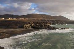 Пляж Caleta Negra Стоковые Изображения RF