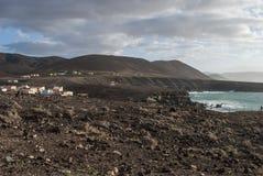 Пляж Caleta Negra Стоковая Фотография RF