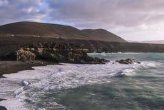 Пляж Caleta Negra Стоковое Изображение RF