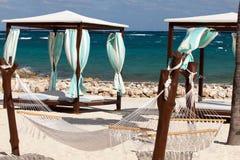 Пляж Cancun Стоковая Фотография RF