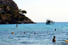 Пляж Canyamel Стоковое фото RF