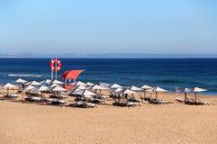 Пляж Carcavelos, Португалия Стоковые Фотографии RF