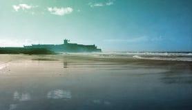 Пляж Carcavelos Стоковые Фотографии RF