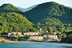 Пляж Carribian Стоковое Изображение RF