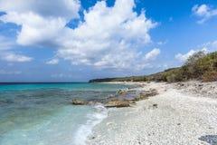Пляж Cas Abou Стоковое фото RF