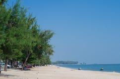Пляж Cha Am Стоковые Изображения RF