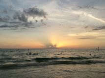 Пляж Clearwater Стоковое Фото