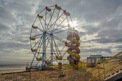Пляж Cleethorpes Стоковые Изображения