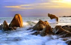 Пляж Co Thach Стоковое Фото