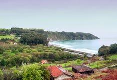 Пляж Concha Ла Стоковая Фотография