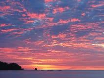 Пляж Conchal Стоковое фото RF