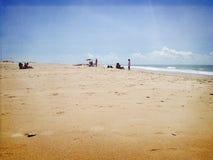 Пляж Conil стоковая фотография rf