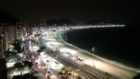 Пляж Copacabana Стоковое Изображение
