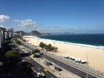 Пляж Copacabana Стоковые Изображения