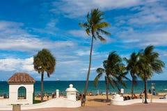 Пляж Cortea, Fort Lauderdale Стоковое фото RF