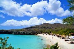 пляж curacao стоковые фото
