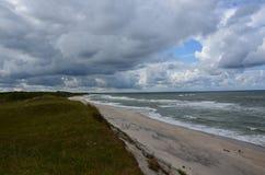 Пляж Curonian Стоковые Изображения RF