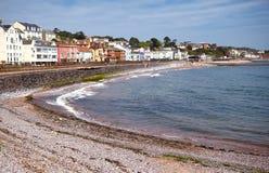 Пляж Dawlish, Девон, Великобритания стоковые изображения