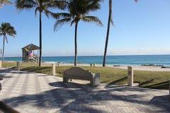 Пляж Deerfield Стоковое Изображение RF