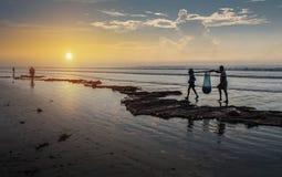 Пляж 4 Digha Стоковые Фотографии RF