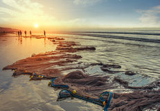Пляж 5 Digha Стоковые Фотографии RF