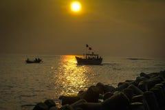 Пляж 7 Digha Стоковые Изображения RF