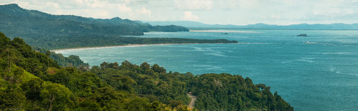 Пляж Dominicalito Стоковое фото RF