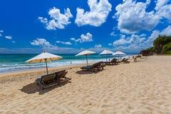 Пляж Dreamland - Бали Индонезия Стоковая Фотография RF