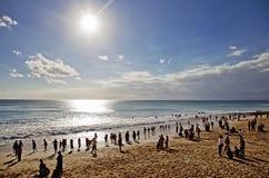 Пляж Dreamland - Бали Стоковое Изображение RF