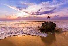 Пляж Dreamland в Бали Индонезии Стоковые Изображения