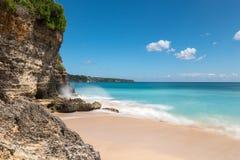 Пляж Dreamland в Бали Стоковые Фотографии RF