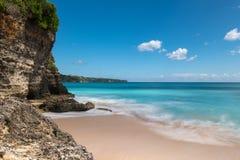 Пляж Dreamland в Бали Стоковые Изображения RF