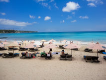 Пляж Dreamland на Бали Стоковые Изображения