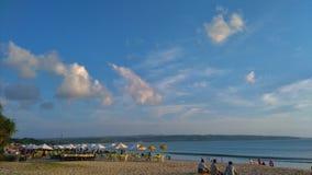 Пляж Dua Nusa, Бали Индонезия Стоковое Изображение RF