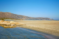 Пляж Elafonissos стоковая фотография