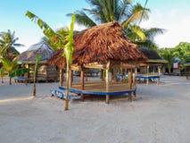 Пляж Fales (хаты) Стоковые Фотографии RF