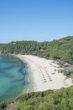 Пляж Fetovaia, остров Эльбы, Италия Стоковые Изображения