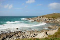 пляж fistral стоковое изображение