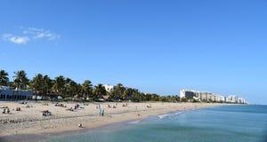 пляж florida Стоковое Фото