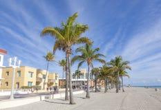 пляж florida hollywood Стоковое Изображение