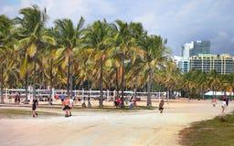 пляж florida miami южный Стоковое фото RF