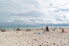 пляж florida miami южный Стоковая Фотография