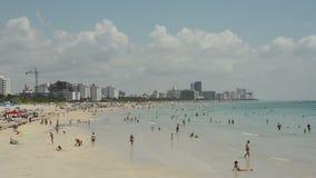пляж florida miami сток-видео