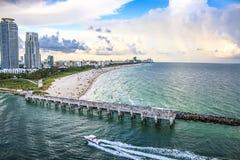 пляж florida miami Стоковое фото RF
