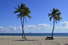 Пляж Fort Lauderdale Стоковое Фото