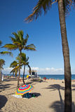 Пляж Fort Lauderdale стоковая фотография rf