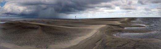 Пляж Georgia саванны стоковое фото rf