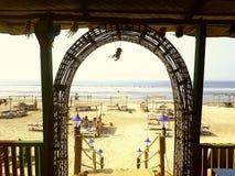 Пляж Goa Стоковая Фотография