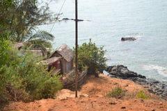 Пляж Gokarna Стоковые Фотографии RF