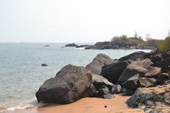 Пляж Gokarna Стоковое Изображение